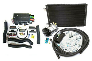 Gearhead Mini AC Heat Defrost Air Conditioning A/C Kit with Vents & Compressor
