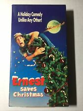 Ernest Saves Christmas Comedy VHS