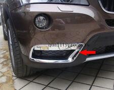 2pcs Chrome Front Bottom Fog light lamp Cover Trim For BMW X3 F25 2011-2013