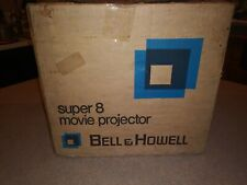 Vintage Bell & Howell 456A Super 8mm Film Movie Projector w Box SUPER CLEAN