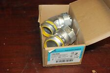 """Cooper Crouse-Hinds, Ltb15045, 1 1/2"""", Lot of 2, 45 Degree Connector, New in box"""