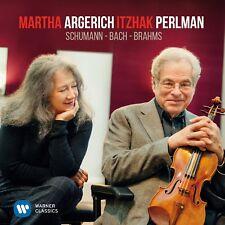 MARTHA/PERLMAN,ITZHAK ARGERICH-SCHUMANN/BACH/BRAHMS  SCHUMANN/BRAHMS -CD NEU