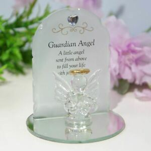 Thoughts Of You Glass Angel Ornament - Guardian Angel