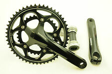 SHIMANO FC-R565 10 SPD DOUBLE COMPACT CRANKSET 50/34 CHAINWHEEL SET 172.5mm BLK