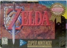 Zelda Link to the Past SNES Super Nintendo Video Game w/ Instructions Used 1992