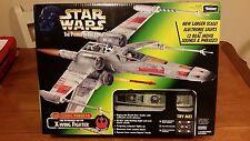 💥Star Wars Electronic Power F/X Luke Skywalker Red Five X-Wing Fighter FX POTF