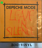 """DEPECHE MODE LEAVE IN SILENCE 12"""" VINYL TEXTURED SLEEVE 12BONG1 1982 Ex+ Con"""