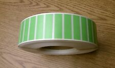 "1.75""x0.5"" GREEN Thermal Transfer Paper FILE Labels,5000/roll,3"" core-ribbon req"