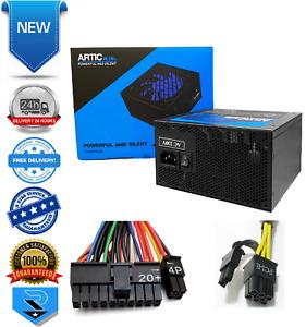 Artic 750W Blue Quiet Power Supply with 120mm Blue Fan & 8-pin PCI-E ATX PSU
