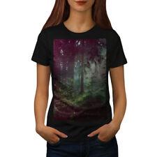 Deep Dark Forest Femmes T-Shirt S-2XL Neuf | wellcoda
