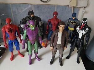 DC / Marvel / Star Wars - 12'' Figures by Mattel & Hasbro [7 Figures] VGC