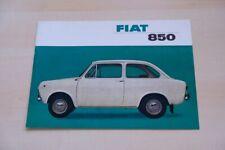 216912) Fiat 850 Prospekt 196?