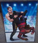 Rhea Ripley vs Freddy Krueger Glossy Art Print 11 x 17 In Hard Plastic Sleeve