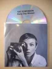 KAT EDMONSON : RAINY DAY WOMAN [ CD SINGLE PROMO ]
