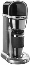 New KitchenAid Personal Coffee Maker Silver kcm0402cu included 18 oz thermal mug