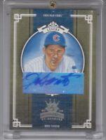 2005 Donruss Diamond Kings Ron Santo Gold Autograph 5/5 Card Chicago Cubs HOF