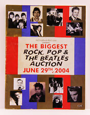 Its Only Rock N Roll.com The Biggest Rock, Pop & Beatles 2004 Auction Catalog