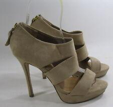 Skintone 14cm tacco alto 3.8Cm plateau aperto a cinturino alla caviglia sexy