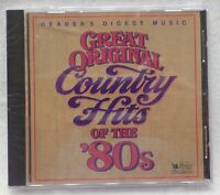Great Original Country Hits of the 80's Various Artists CD
