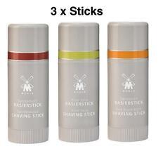 3 x Muhle Shaving Soap Sticks 37g (Aloe Vera, Sandalwood & Sea Buckthorn)
