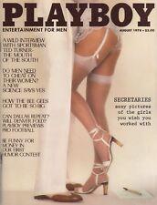 PLAYBOY AUGUST 1978 Nicki Thomas Vicki Witt Ted Turner Faye Dunaway BeeGees MLR