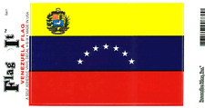 VENEZUELA FLAG LAMINATED CAR SELF ADHESIVE VINYL DECAL STICKER NEW