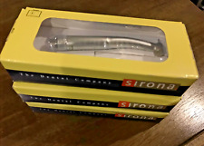 3x Sirona T3 Racer Dental High Speed Handpiece Non Fiber Optic Standard Push 4h