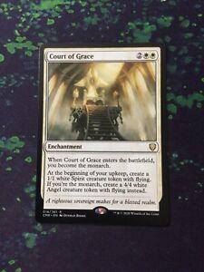 MTG, Court of Grace. Commander Legends Rare NM