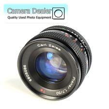 Carl Zeiss Planar 1.7 50mm T * CY Monte lente della fotocamera con tappi.