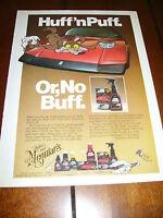 De TOMASO PANTERA MEGUIAR'S WAX ***ORIGINAL 1982 AD*** ROAD RUNNNER - COYOTE