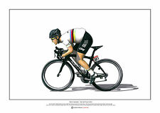 Mark Cavendish - Tour de France 2012 ART POSTER A2 size