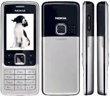 for  nokia 6300 body panel faceplate housing mobile body with middle silver new