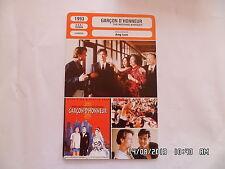 CARTE FICHE CINEMA 1993 GARCON D'HONNEUR Mitchell Lichtenstein Winston Chao