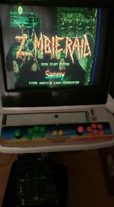 ZOMBIE RAID - 1995 American Sammy - JAMMA Arcade PCB