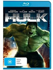 The Incredible Hulk (Blu-ray, 2009) MARVEL- NEW + SEALED  - FREE POST