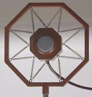 MICROPHONE vintage old spring hung studio radio broadcasting station stand vocal