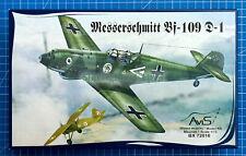 1/72 Messerschmitt Bf-109D-1 (AviS BX 72010)