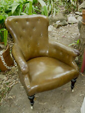 Classic Vintage CHESTERFIELD BUTTON BACK Armchair / Wingback Chair