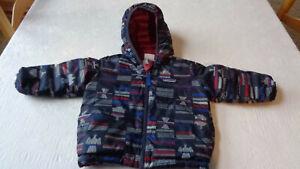 Patagonia Baby Reversible Down Sweater Hoody Jacket, 12-18 months, GREAT!