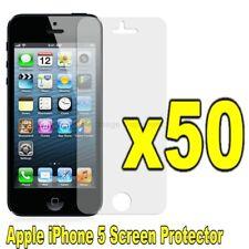 Wholesale 50x Pcs Film Guard Super Clear Screen Protector Apple iPhone 5 LTE