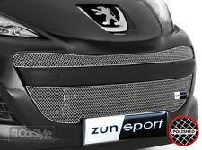 ZunSport Peugeot 207 Facelift 2009-2012 Polished Steel Mesh Full Grille Set