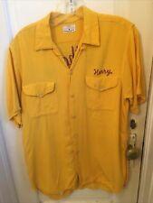 Vintage 1950s/60s Rayon? Rockabilly Bowling Shirt Sz M