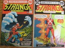Strange Adventures #s 241,242 (1973) Adam Strange! The Cloud Creature! Fn./VF.
