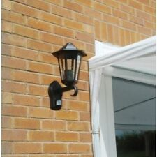 VICTORIAN WALL LANTERN LIGHT LAMP WITH PIR MOTION INTRUDER SENSOR OUT4