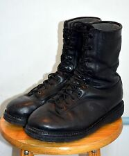 Used Canadian military combat boots size 7 1/2 ( 255/104 ) (C7a)