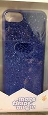 NEW in Box More Than Magic Phone Case for iPhone 6/6S/7/8 - Blue Velvet Sparkly