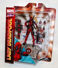 DST Marvel Select Lady Deadpool Action Figure Diamond Select Toys NEW!