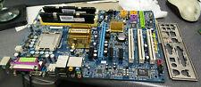 Gigabyte GA-965P-S3 socket 775 Motherboard w/E4400 C2D CPU, 2x 512MB & I/O Plate