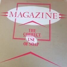 Magazine – The Correct Use of Soap – original UK LP