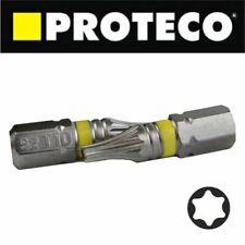 TORX Hex Star Bit Bits PROFI TRX SOLID 1/4'' S2 TX10 TX15 TX20 TX25 TX30 TX40